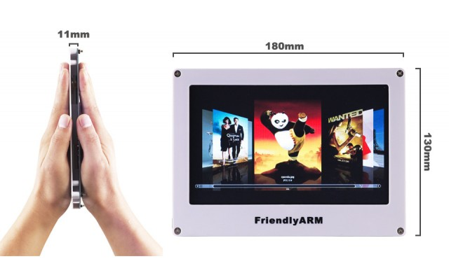 A70i 7 Inch Resistive Touch 800x480 Color LCD