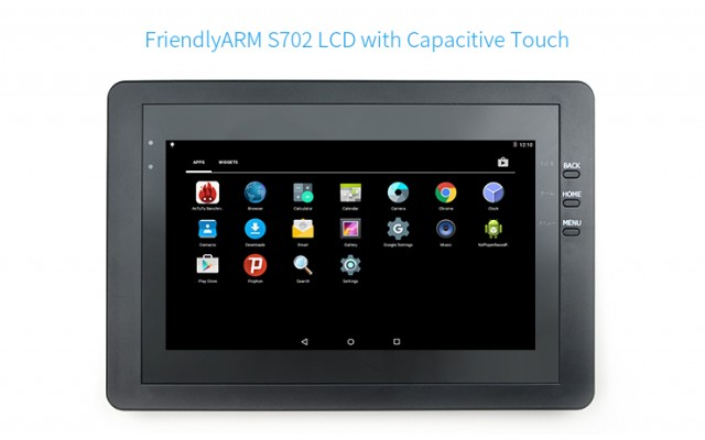 S702 Capacitive Touch 7 inch LCD