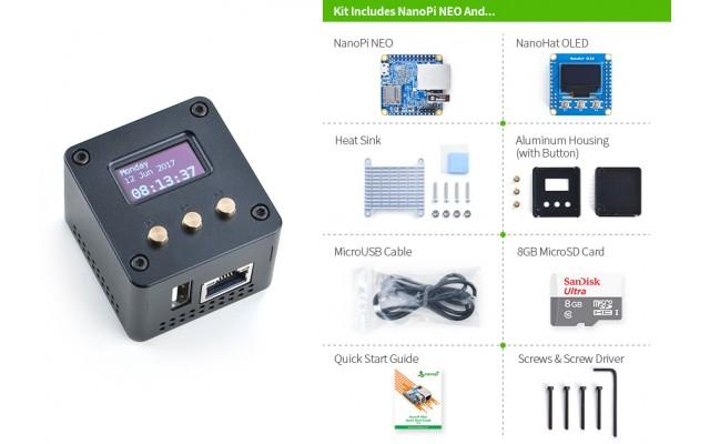 NanoPi-NEO Complete Starter Kit
