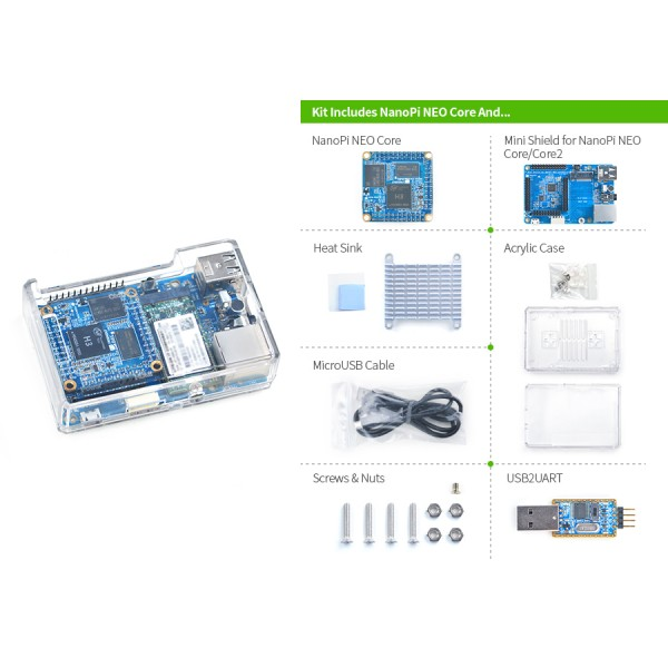 NanoPi-NEO-Core2 Starter Kit