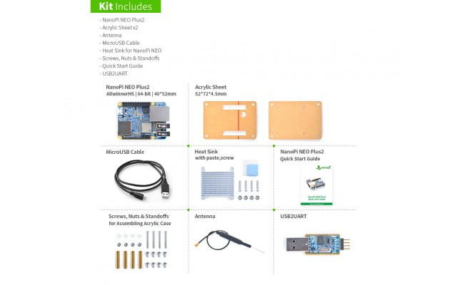 NanoPi NEO Plus2 Basic Kit