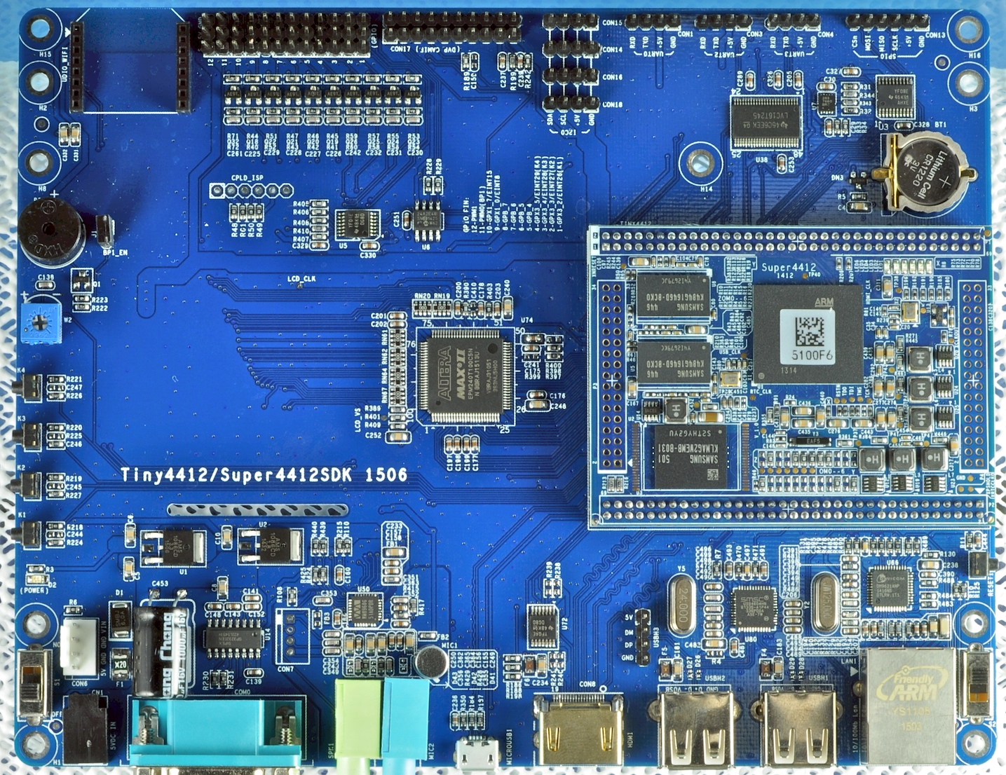 Wiringpi Nanopi Name Super4412 Quad Cortex A9 Core Board With Sdk Carrier